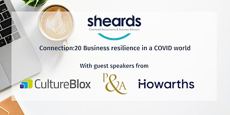 Connection:20 Business resilience in a COVID world tickets