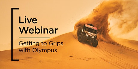 Live Webinar | Getting to Grips with Olympus tickets