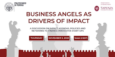 BUSINESS ANGELS AS DRIVERS OF IMPACT tickets