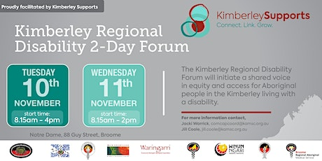 Kimberley Regional Disability Forum tickets