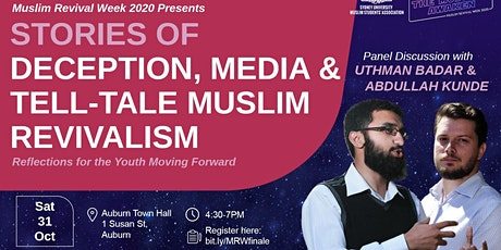 MRW FINALE - Stories of Deception, Media and Tell-Tale Muslim Revivalism tickets