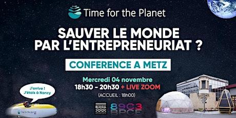 Sauver le monde par l'entrepreneuriat ? billets