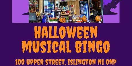 Halloween Musical Bingo at The Bull tickets