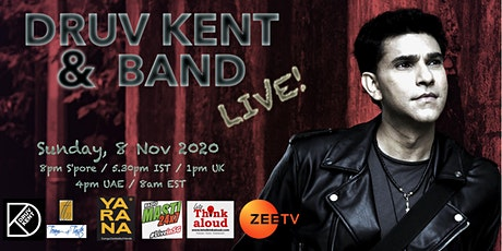 Druv Kent & Band: Songs of Light tickets