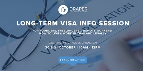 Long-Term Visa Info: How to Live & Work in Thailand Legally tickets