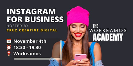 Workshop: Instagram For Business tickets