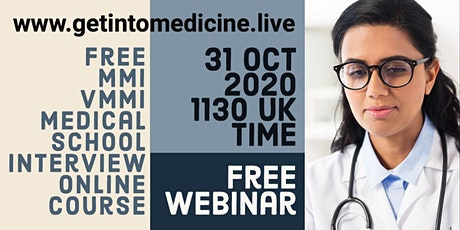 Free MMI Medical School Interview Workshop | Course for Students in the UK tickets