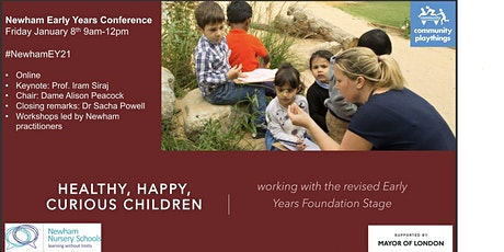 Healthy, happy, curious children; curriculum development & the revised EYFS tickets