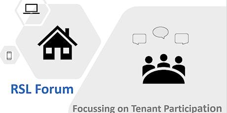SHN RSL Forum: Tenant Participation tickets