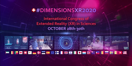 #DIMENSIONSXR2020 : International congress of extended reality in sciences tickets