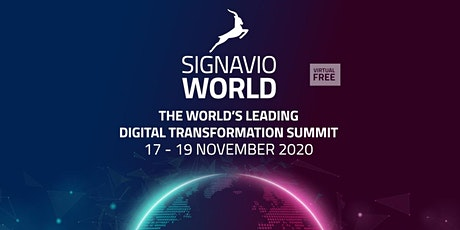 Signavio World 2020 tickets