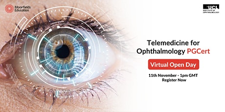 Telemedicine for Ophthalmology - Virtual Open Day tickets