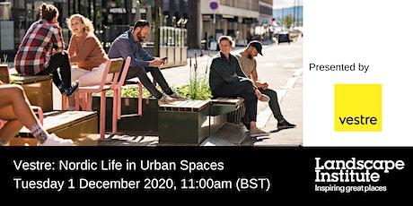 LI Webinar: Nordic Life in Urban Spaces tickets