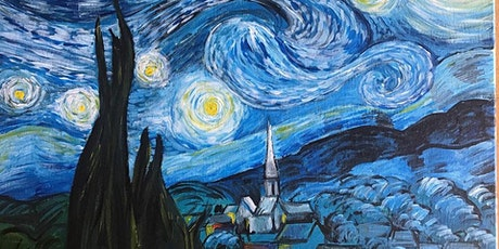 Chill & Paint Sat Night  Auck  City  - Van Gogh Starry Night tickets