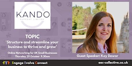EEC Collective UK Online Networking - Speaker Kay Dewar tickets