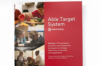 Able Target System Train the Trainer tickets
