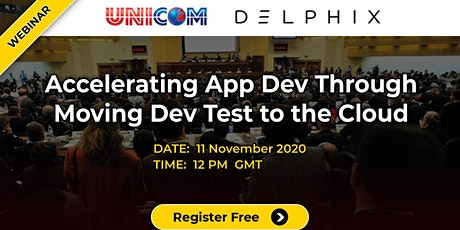 Free Webinar- Accelerating App Dev through moving Dev Test to the Cloud tickets
