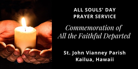 All Souls' Day Prayer Service, November 2, 2020 tickets