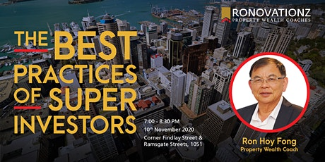 The Best Practices of Super Investors tickets
