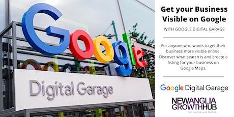 Google Digital Garage - Get your Business Visible on Google