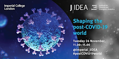 'Shaping the post-COVID-19 world' - J-IDEA one year anniversary symposium tickets