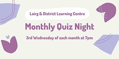 LDLC Monthly Quiz Night