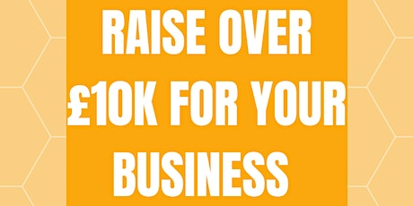 Raise over £10K for your business tickets