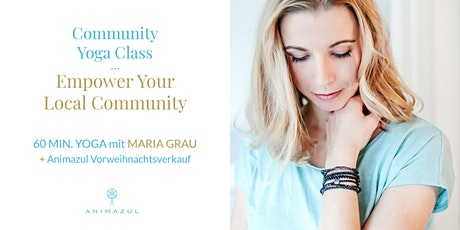 Community Yoga Class (online) - Empower your local community