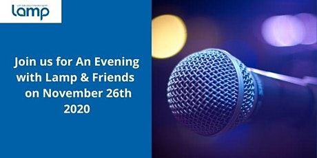 An Evening with Lamp & Friends 2020 tickets