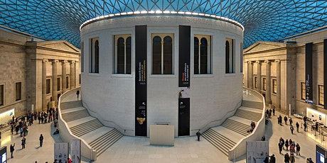 British Museum; five great objects - Lunchtime Lite