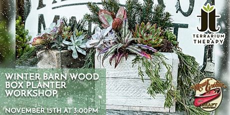 In-Person - Winter Barn Wood Box at Mount Gretna Craft Brewery tickets