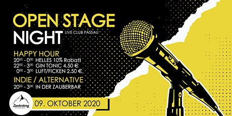 Open Stage Night • Passau Tickets