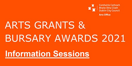 Bursaries  Information Session - Wednesday 28th Oct 12 noon tickets