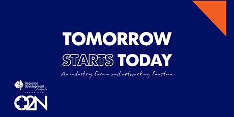 Tomorrow Starts Today - O2N Industry Forum and State of the Region Luncheon tickets