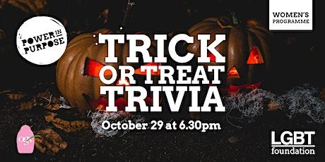 Trick or Treat Trivia! tickets