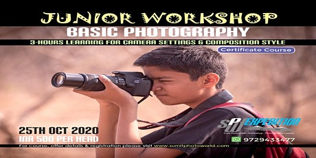 Junior Photographer Workshop tickets