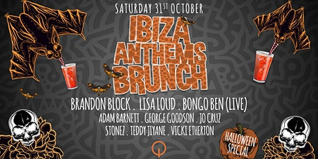 Ibiza Anthems Brunch Halloween tickets