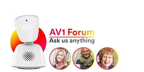 AV1 Forum: Ask Us Anything tickets