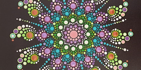 Create a dot mandala canvas - with Prosecco! tickets