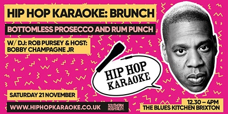 Hip Hop Karaoke Brunch tickets
