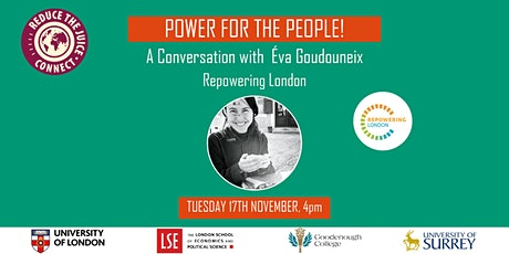 Power for the People! A Conversation with Éva Goudouneix tickets
