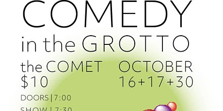 Comedy in the Grotto VIII - Halloween Special tickets