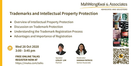 MWKA Online Talk: Trademarks and Intellectual Property Protection tickets