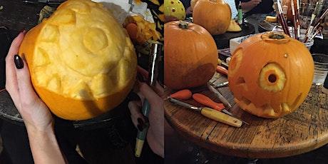 Children's pumpkin carving workshop tickets