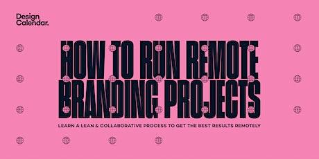 Workshop: How to run remote branding projects biglietti