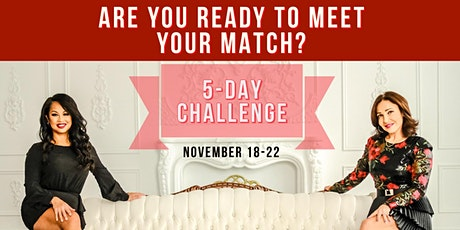 Meet Your Match - 5 Day Dating Challenge tickets