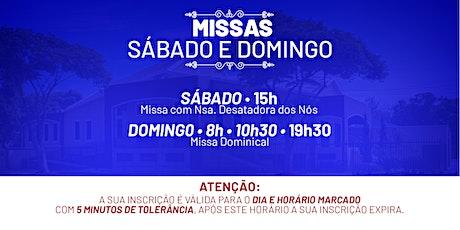 Missa Sábado e Domingo - 24 e 25  de Outubro  -  P.  N. Sra. da Assunção billets