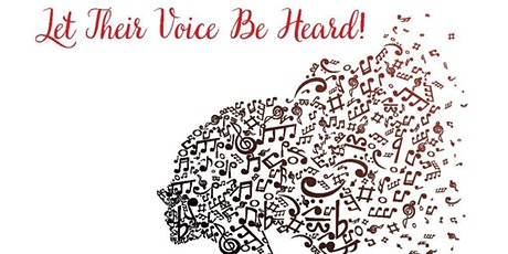 """""""Let Their Voice Be Heard"""" Get Virtually Vocal Online Benefit tickets"""
