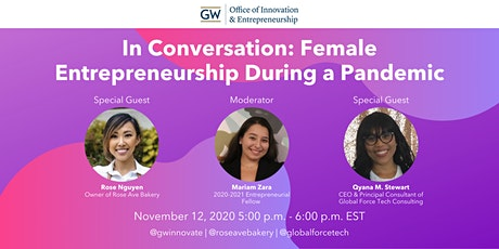 In Conversation: Female Entrepreneurship During a Pandemic tickets