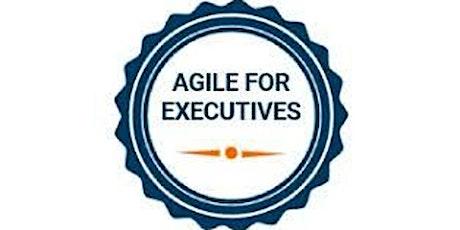 Agile For Executives 1 Day Virtual Live Training in Fairfax, VA tickets